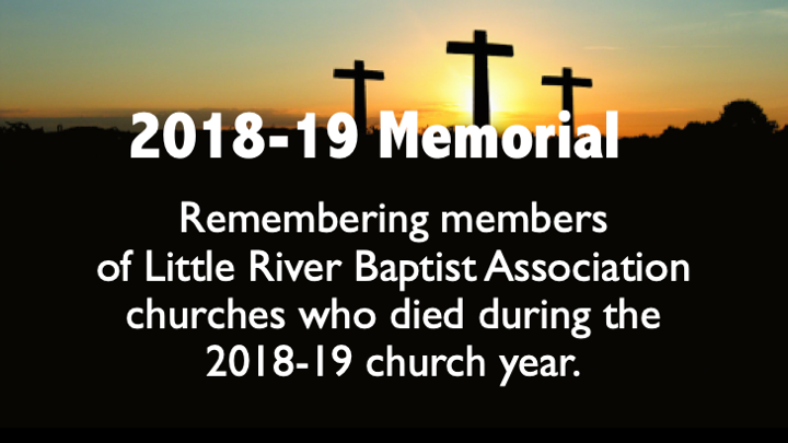 Click to view memorial service slide show