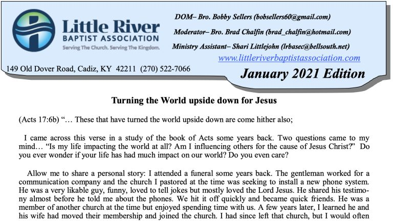 Click to read newsletter.