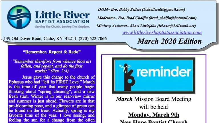 Click here to view newsletter.